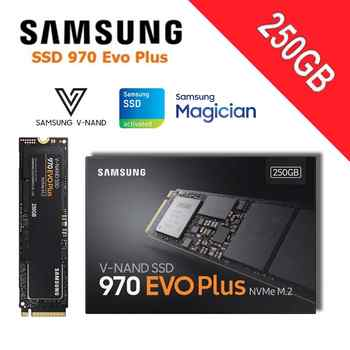 Samsung SSD m2 1TB NVMe M.2 2280 PCI-Express 3.0 x4 Solid State Drive 250GB 500GB 2TB 970 EVO Plus High Performance V-NAND Disk - DISCOUNT ITEM  38% OFF All Category