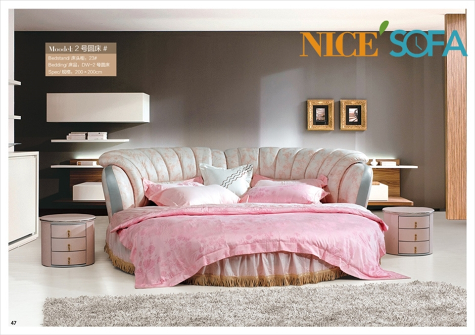 Factory Design Your Own Bed Set Custom Made Bed Round Bed Mr2 In
