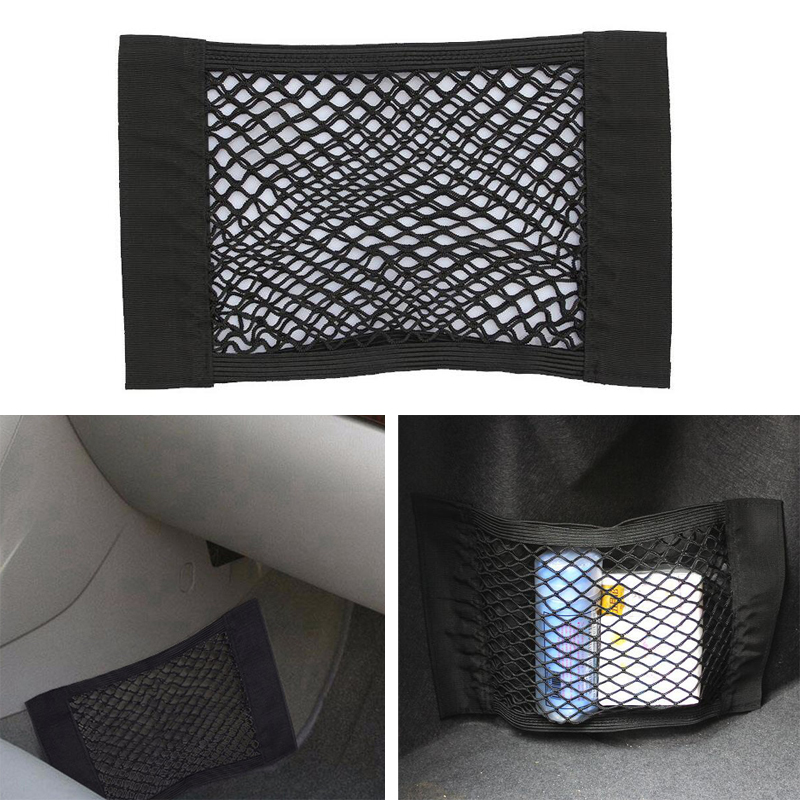 Car Trunk Storage Mesh Bag for <font><b>Ford</b></font> Focus 2 3 <font><b>Fiesta</b></font> Mondeo Kuga Citroen C4 C5 Skoda Octavia 2 A7 A5 Rapid Superb <font><b>Accessories</b></font> image