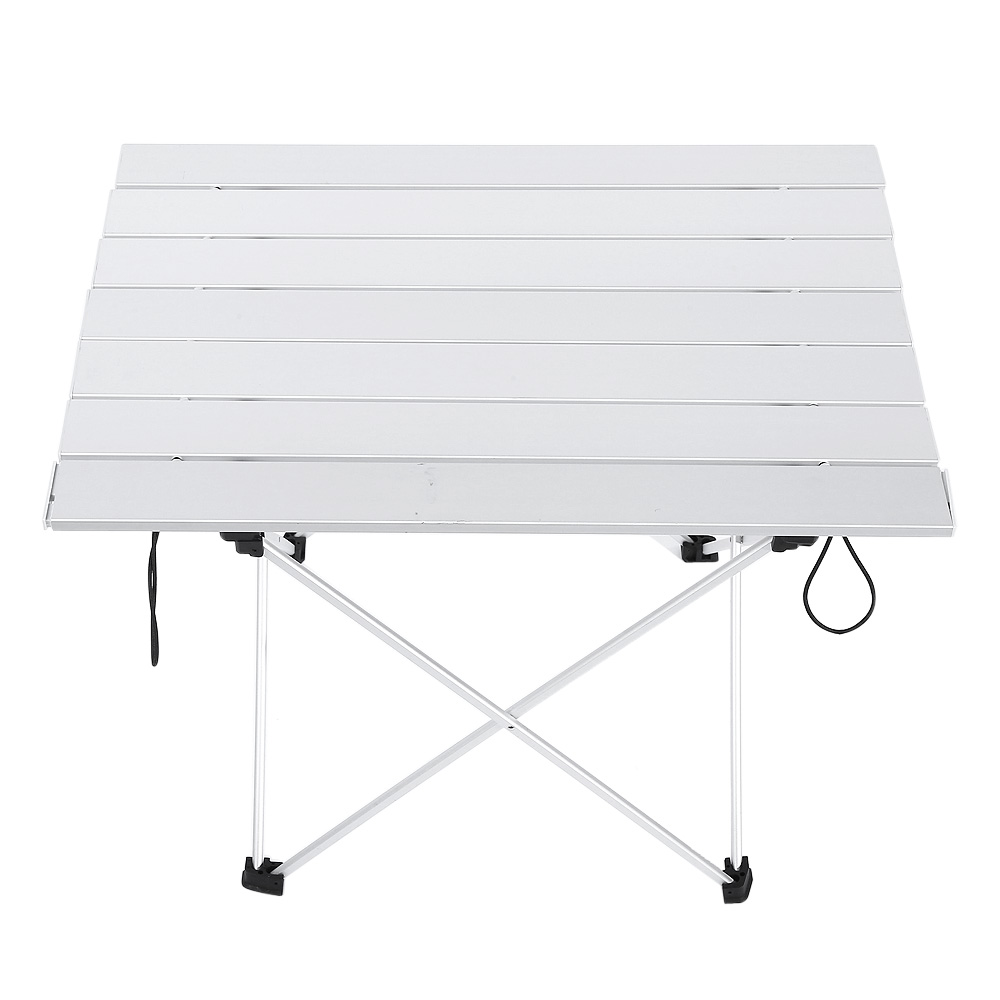 Furniture Portable Outdoor Bbq Camping Diy Table Picnic Aluminum Alloy Folding Table Portable Lightweight Rain-proof Mini Rectangle Table Outdoor Tables