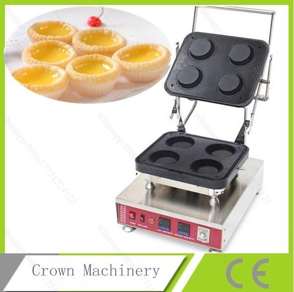 Egg Tartlet Baking Machine 4pcs Tartlet Bakery Oven Tart