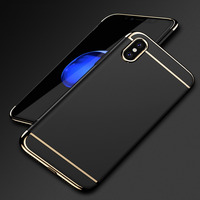 For IPhone X Case 3 In 1 Ultra Slim Case Cover Matte For IPhone X Luxury