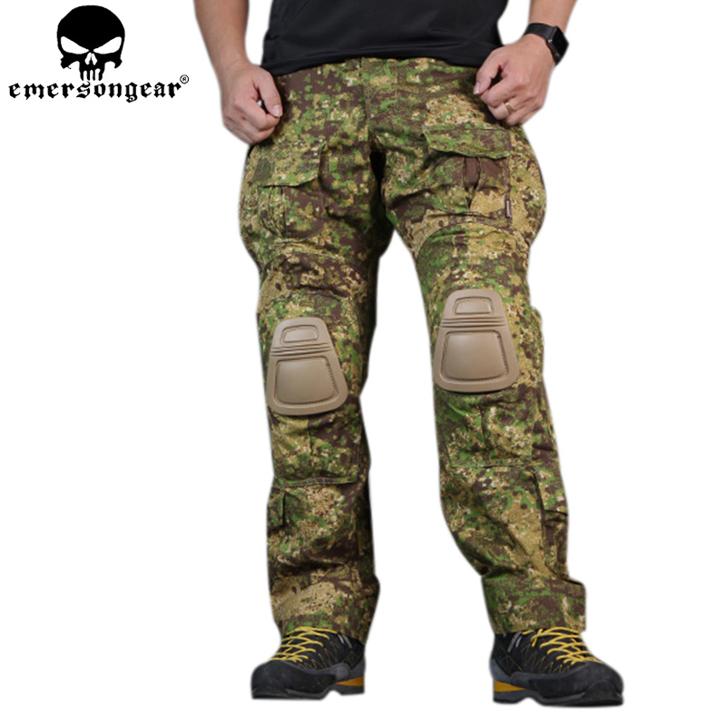 EMERSONGEAR Gen3 Combat Pants Tactical Trousers Airsoft Outdoor Hunting Army Pants with Knee Pads GZ EM7039 sinairsoft military tactical pants paintball hunting army combat man trousers with knee pads airsoft outdoor cs hiking