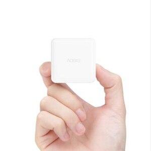 Image 2 - Aqara Cube 컨트롤러 지그비 버전 App을 작동 Xiaomi Mijia 게이트웨이 스마트 홈 키트 화이트