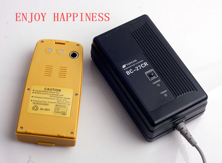NI-MH Battery BT-52QA Topcon Charger BC-27CR nd new universal topcon 3 pin charger for topcon bt 52q bt 52qa battery with free post shipping