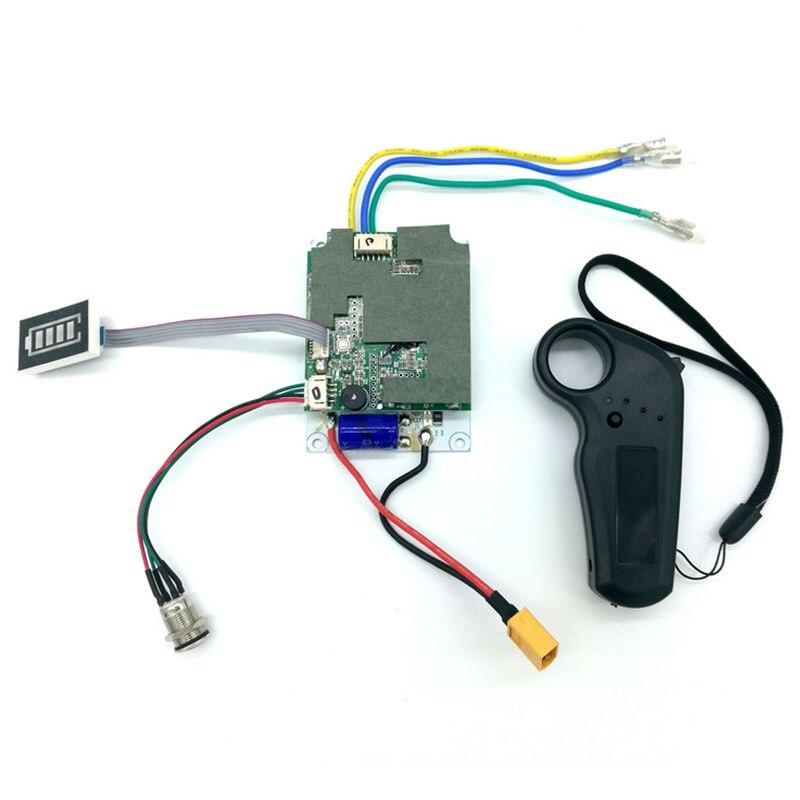Contrôleur de planche à roulettes électrique planche à roulettes conseil de pilote à entraînement unique moyeu de détection externe panneau moteur 36V contrôleur de planche à roulettes - 5