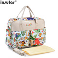Pregnant women multi-function large capacity his mummy bag Fashion mother-to-child bags just yet mom female bag