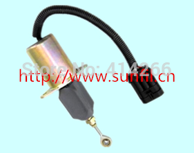 6CT Fuel Shutdown Solenoid Valve 3939018 SA-4889-12, 12V 3930235 fuel shutdown solenoid valve sa 4348 12 for engine 12v
