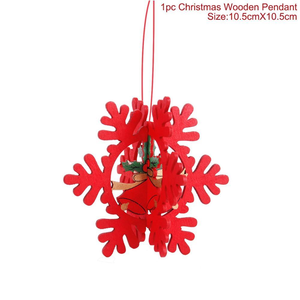 Home For Christmas 2019 o] PATIMATE Noel Xmas Tree Pendants Christmas 2018 Merry Christmas