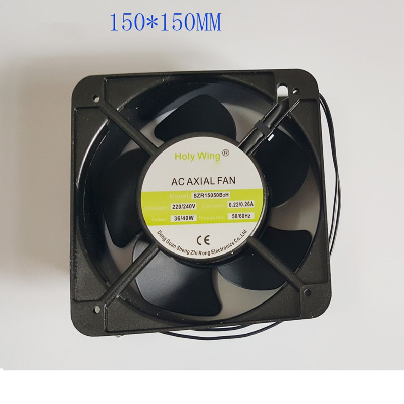 Replacement Industrial Waterproof Fans Humidifier Fan Air Humidifier Parts Industrial Fans 150*150mm 18-22W Waterproof Fan computador cooling fan replacement for msi twin frozr ii r7770 hd 7770 n460 n560 gtx graphics video card fans pld08010s12hh