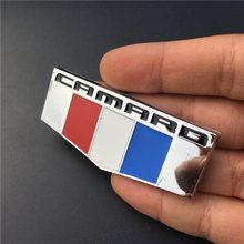 1 шт 3d металлическая эмблема camaro передний правый или левый