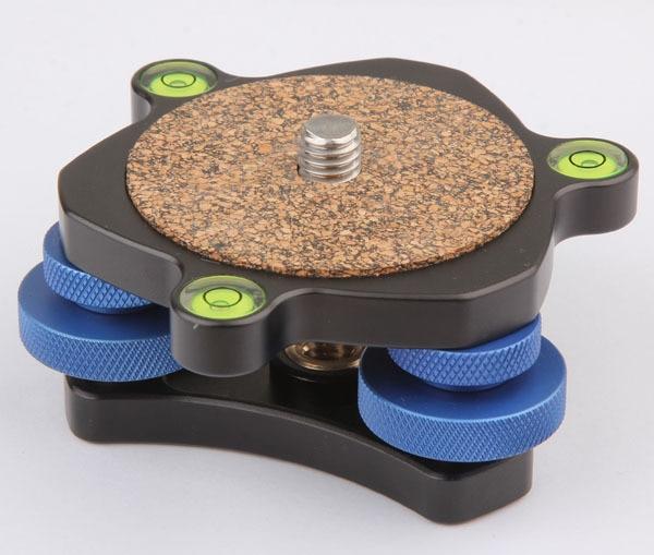 Professional Panoramic Camera Tripod Head Leveler Measurement Regulator Horizontal 3/8 Screw Mount