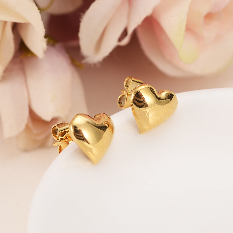 2pairs Cute Baby Girls Romantic Style Earrings Jewelry