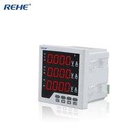 REHE RH-3UIF33 96*96 MM Drie Fase Digitale Gecombineerde Meter LED