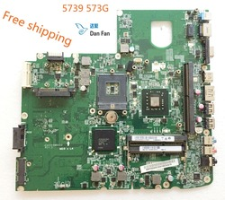 MBPDS06001 laptopa płyta główna do Acer 5739 5739G płyta główna DA0ZK6MB6D0 płyty głównej płyta główna 100% w pełni przetestowane pracy|Płyty główne|   -
