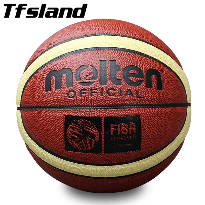 Size 7 Official New PU Leather Basketball Men Non-slip Ball Outdoor Indoor Sports Training Ballon Gym Equipment Homme Basketball