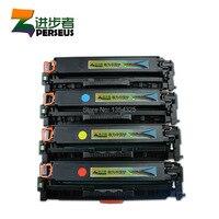 4PC Lot Compatible For HP LaserJet Pro 400 Toner Cartridge For 305A CE410A CE411A CE412A CE413A