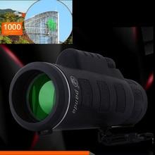 Горячая Распродажа, супер высокая мощность 40X60, Портативная HD Оптика BAK4, монокулярный телескоп ночного видения, бинокль, Прямая поставка