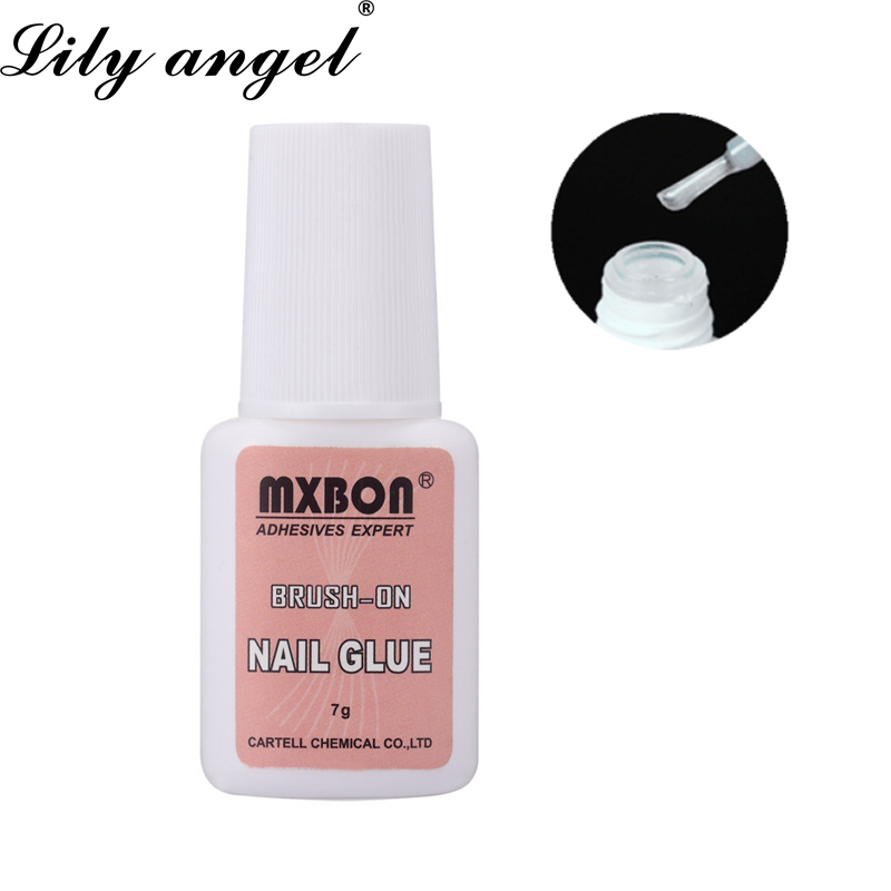 LiLy Angel 7g Nail Glue Use for UV Acrylic Rhinestones Decoration Nail Stickers False Tips High Quality Nails Decoration Beauty