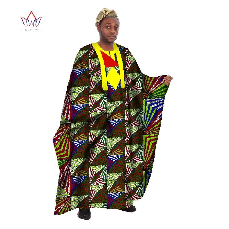 Egendefinert menn Afrikansk klær Langermet menn Løs Thobe Robe - Nasjonale klær - Bilde 2