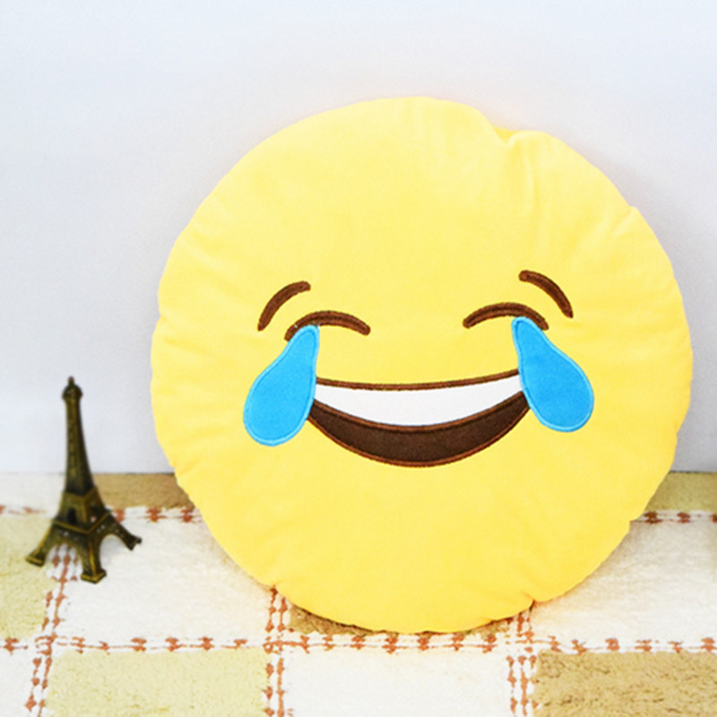 Cushion Pillow Gift Cute Smileys Stuffed Toy Doll Christmas Present Funny Plush Bolster