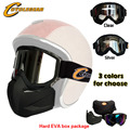 Cyclegear Brand Motorcycle Mask Gafas Motocross Goggles For Open Face Capacetes Casco or Vintage Helmets CG02