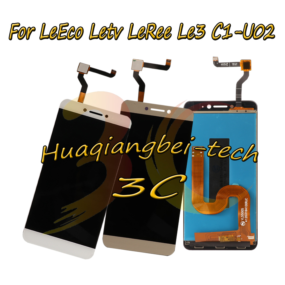 New 5.5'' For LeEco Letv LeRee Le3 L e 3 C1-U02 Global Version Full LCD DIsplay + Touch Screen Digitizer Assembly 100% Tested