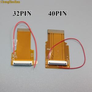 Image 2 - ChengHaoRan 2pcs 32P 40 P Per GameBoy Advance GBA Cavo a Nastro 32 Spille 40 Spille AGS 101 Retroilluminato schermo adattatore Mod W/Via Cavo