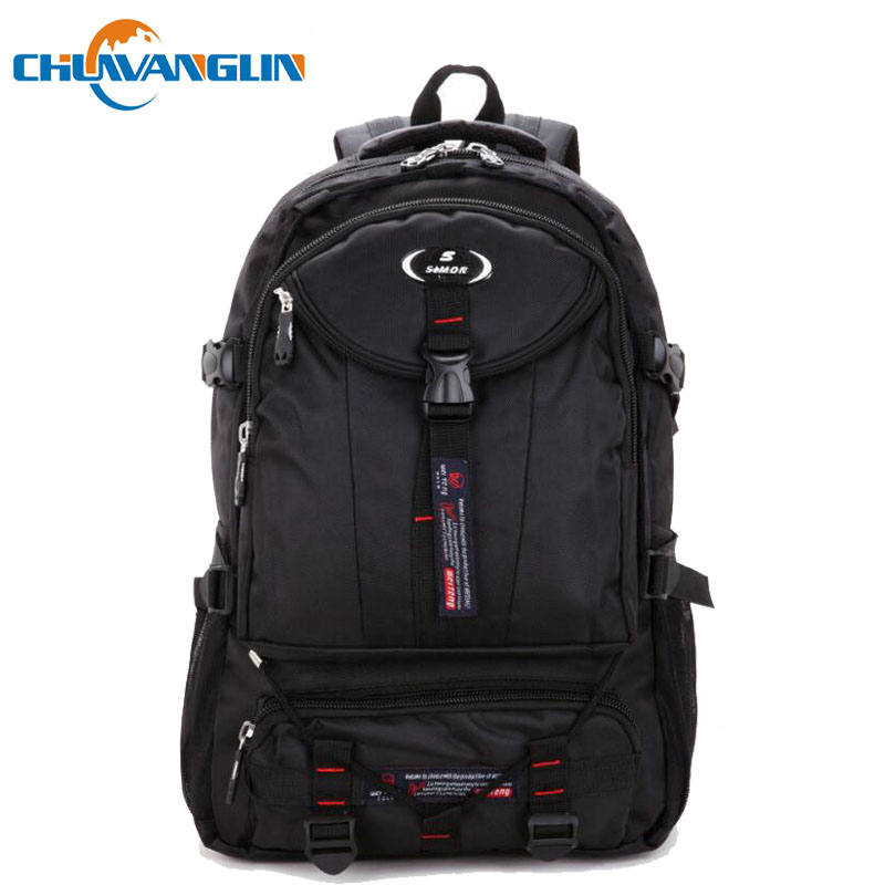 Chuwanglin Fashion Oxford Waterproof Male Backpack New Casual Travel Bag Anti-knock Business 17