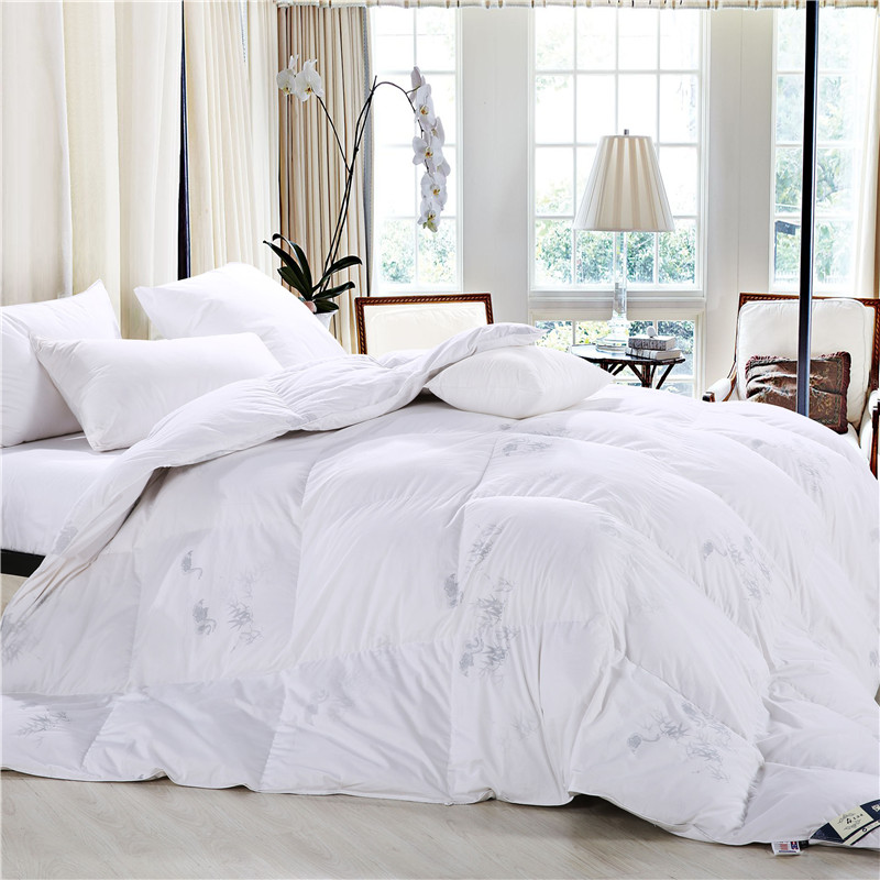 esydream king size 100 goose down comforter 220240cm filling white winter bedding