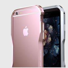Rapier SerieLuxury Aluminum Metal Bumper For Apple iPhone 6 iPhone 6s plus Case Prismatic Shape Frame Metal Button Cover