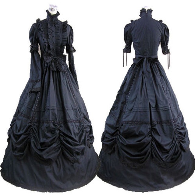ZNCJ Customize Southern Belle Ball Gown Victorian Party Dress Adult Women  Halloween Costume Medieval Gothic Lolita a89466db3d95