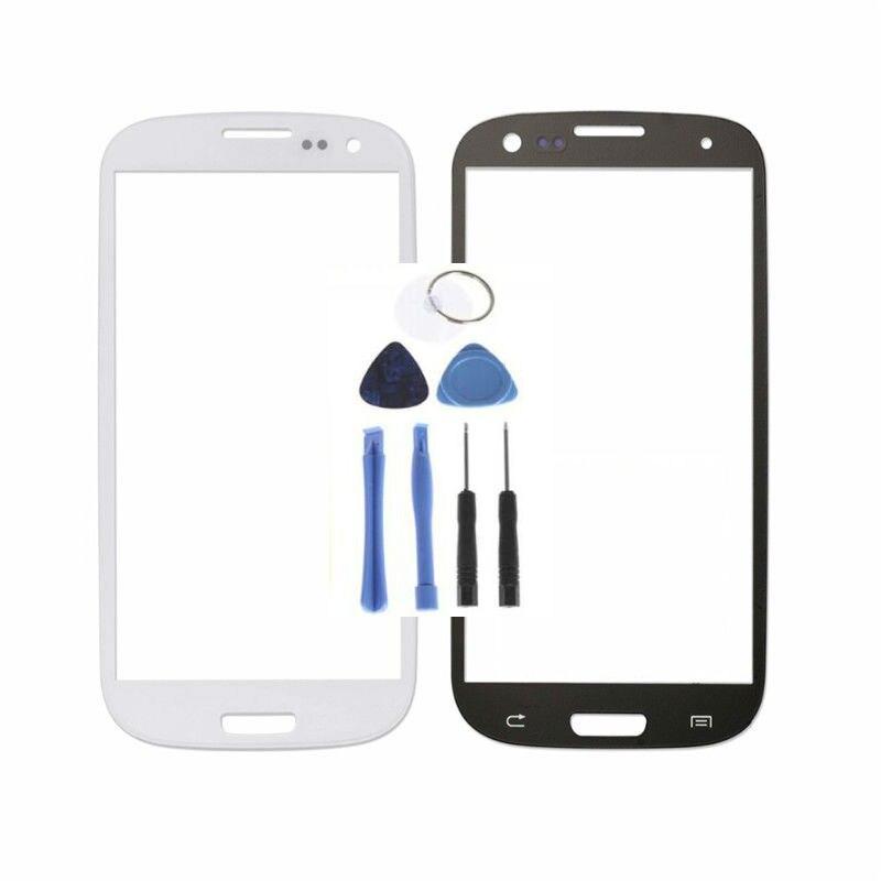 I9300 Front Reparatur Glas Für Samsung Galaxy S3 Äußeren Glas objektiv Für Samsung i9308 i9305 i939 Touchscreen Frontglas objektiv