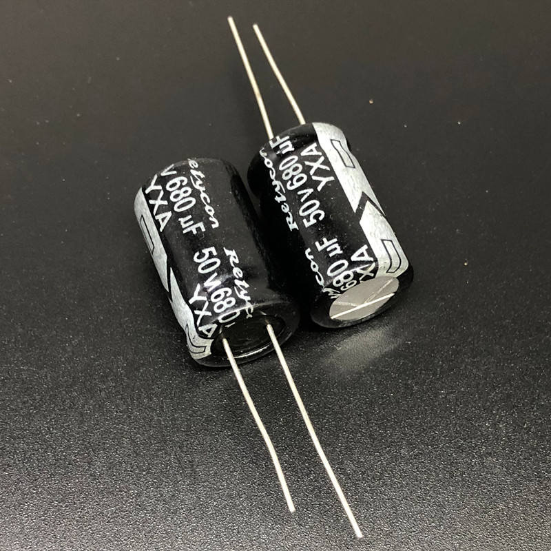 5pcs/lot 680uF 50V 13x21mm 50V680uF Good Quality Aluminum Electrolytic Capacitor