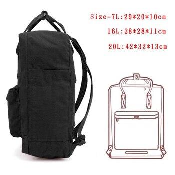 2018 новый рюкзак школьный портфель Mochilas Обувь для девочек двойной плеча холст Любители отдыха дорожная сумка студент Mochila Escolar Kanken