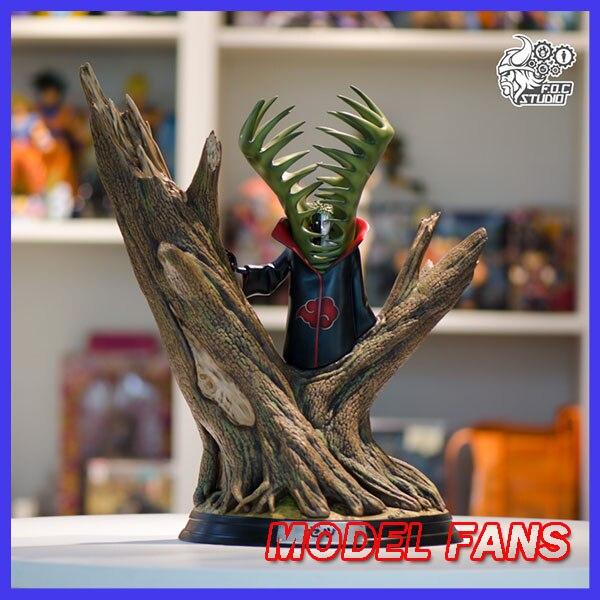 MODEL FANS INSTOCK FOC NARUTO 43cm height Akatsuki Zetsu gk resin statue figure toy for Collection сетевой фильтр pilot gl 3м 6 розеток белый