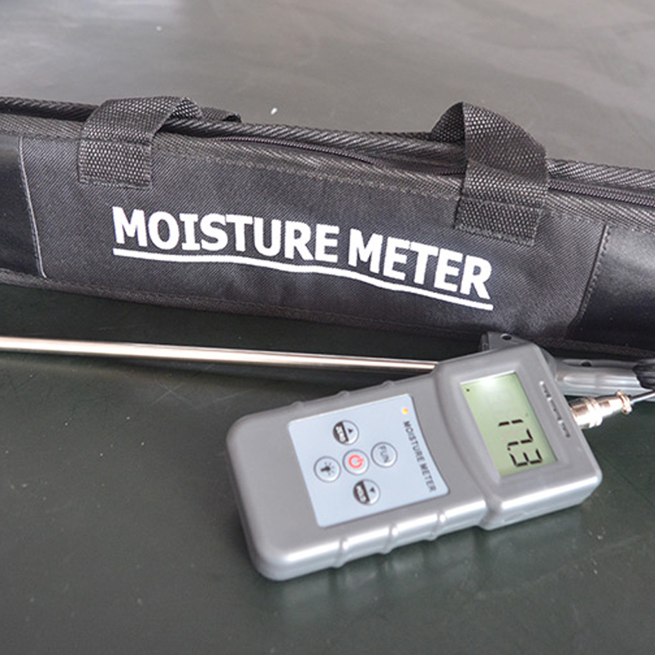 PMS710 Soil Moisture meter Digital Display Dryness Monitor River Sand Cement Gypsum Powder moisture instrument Tester