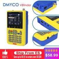 Genuine Satellite Finder DMYCO V8 Finder Meter DVB S S2 With 3 5 Inch LCD