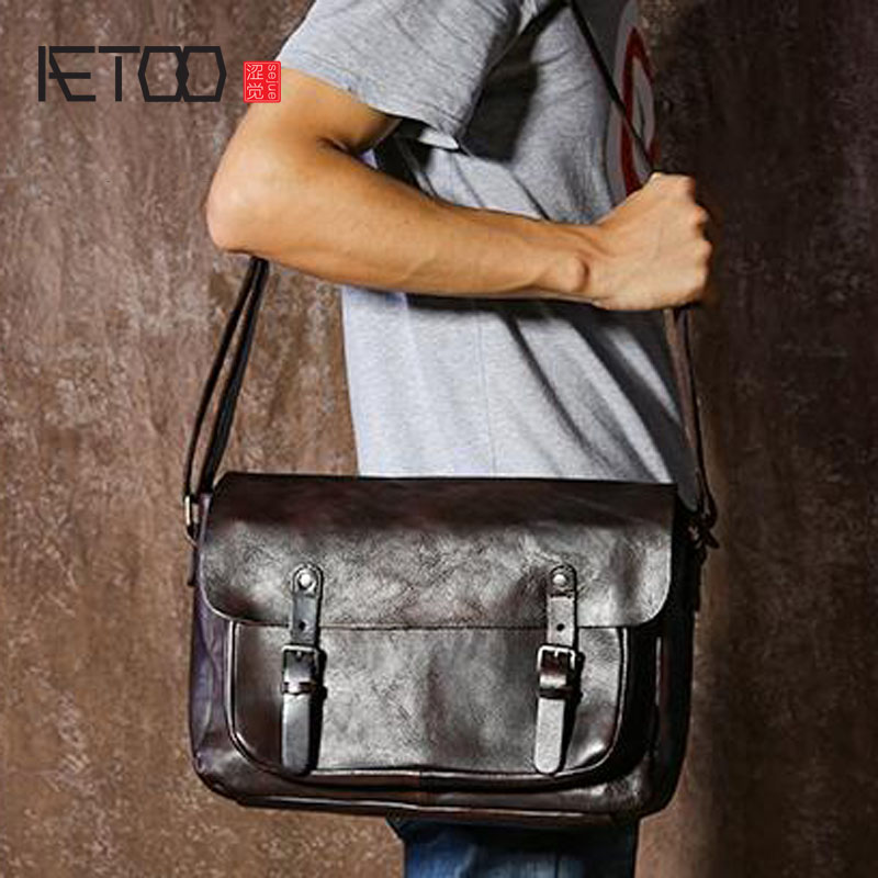 AETOO tanned leather retro to do the old the big messenger bag male package original trend shoulder bagMAC william morris anemone by william morris ipod classic 6th gen 80 160gb skinit skin