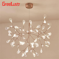 New Design led Chandelier lighting Firefly G4 Chandeliers Ceiling Pendant lamps Luminaria Lustre for Living Room hanging Lamp