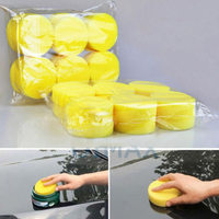 Youwinme 12pcs Auto Car Paint Care Sponge Waxing Round Foam Washing Cleaning Polishing Buffing Applicator Pad Polisher|Plastic & Rubber Care|Automobiles & Motorcycles -