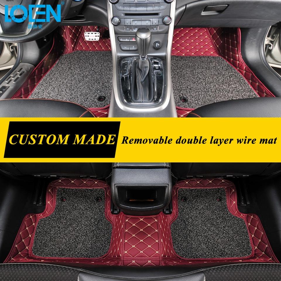 Venta caliente Esteras de Piso de Coche Estilo de Coche 7 Colores Por - Accesorios de interior de coche - foto 3