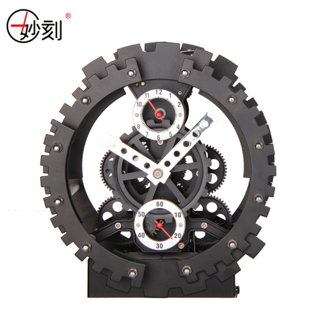 MIAO KE 2017 New Arrival Fashion Creative Large Gear Wall Clock