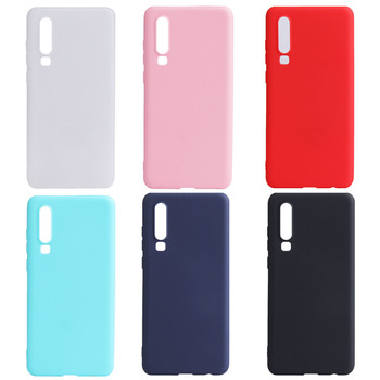 Slim Candy Color Tpu Phone Cover For Huawei P30 Silicone Soft Scratch Resistant Case For Huawei P30 Pro P30 Lite Coque