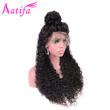 Peruvian water Wave Hair Wig Lace Front Human Wigs For Women Remy 13x4 Pre Plucked With Baby 150% Density