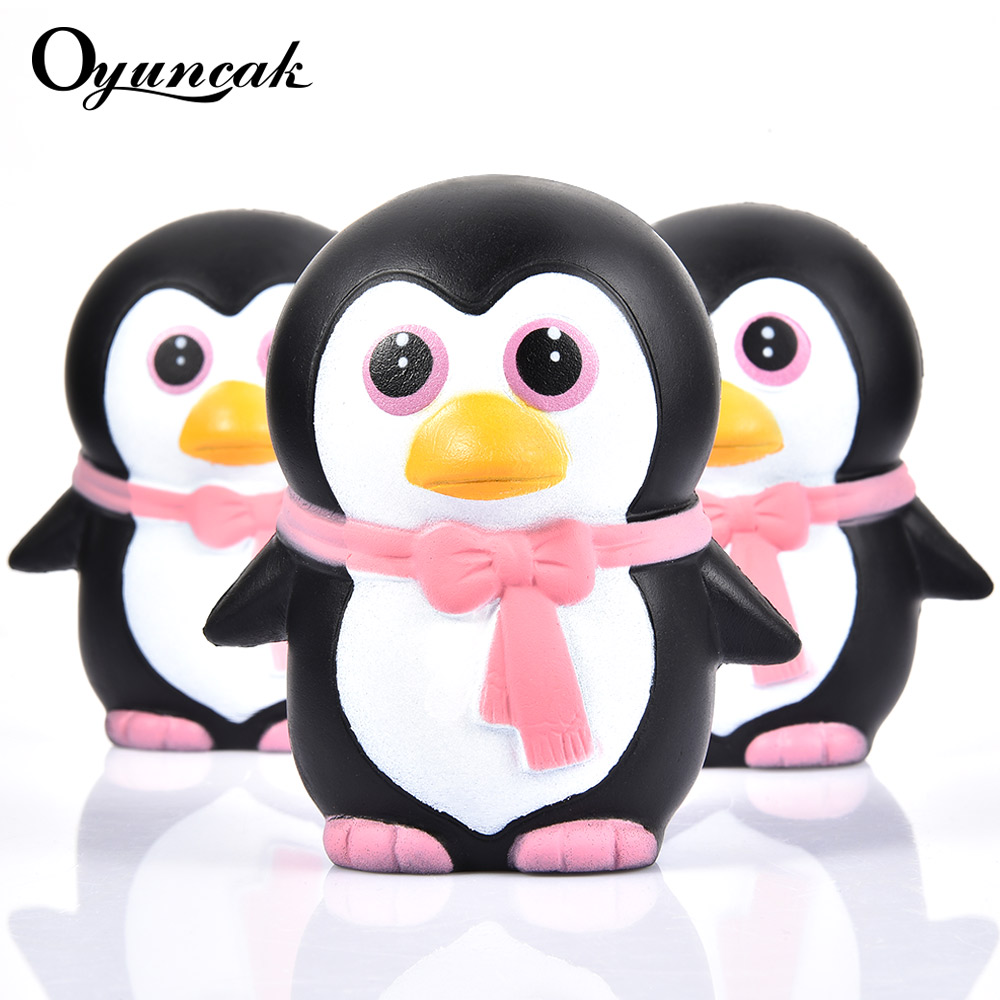 Oyuncak Antistress Penguins Squishy Entertainment Stress Relief Toy Squish Surprise Popular Fun Animals Novelty Gag Toys For Kid цены