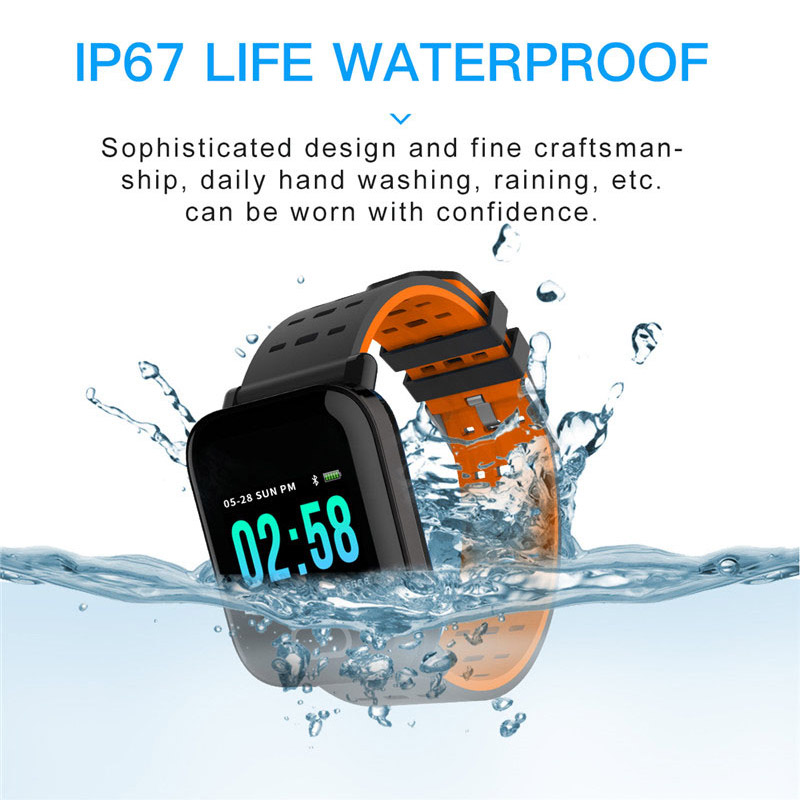 Image 4 - 13 Inch Smart Watch Heart Rate Monitor Sport Smart Bracelet Sleep Monitor Waterproof Smartwatch Wristband for IOS Android-in Smart Watches from Consumer Electronics