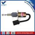 24v электромагнитный клапан пламени 3935650 для Cummins 6CT DH300-7 экскаватор топлива стоп соленоида