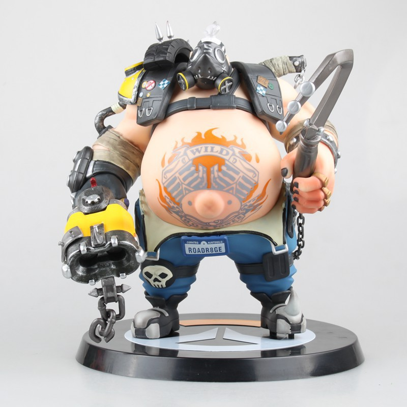 EMS Shipping 9 Hot Game Hero Roadhog Mako Rutledge Boxed 23cm PVC Action Figure Collection Model Doll Toy Gift цена