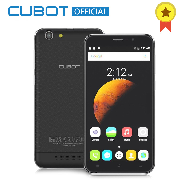 Cubot Dinosaur 5 5 Inch MTK6735A Quad Core Smartphone 3GB RAM 16GB ROM Cell Phone Unlocked